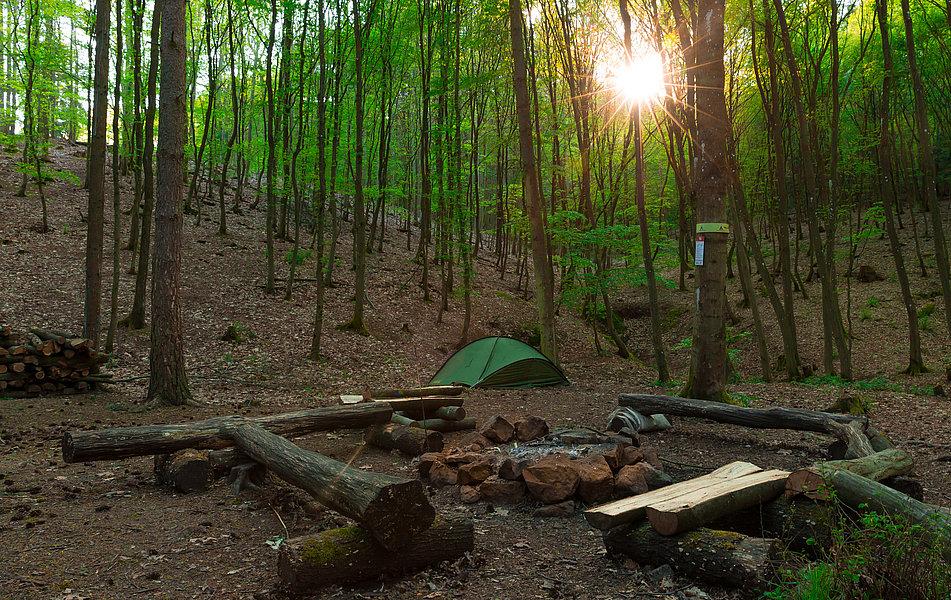 Trekkingplatz bei Imsbach
